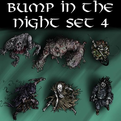 Bump in the Night Set 4