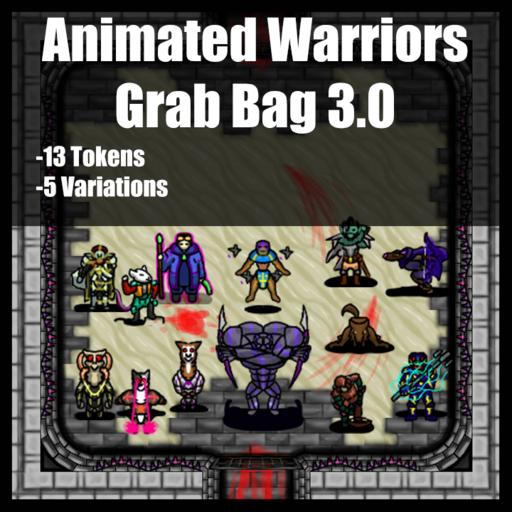 Animated Warriors - Grab Bag 3.0