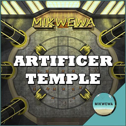 Artificer Temple Battlemaps