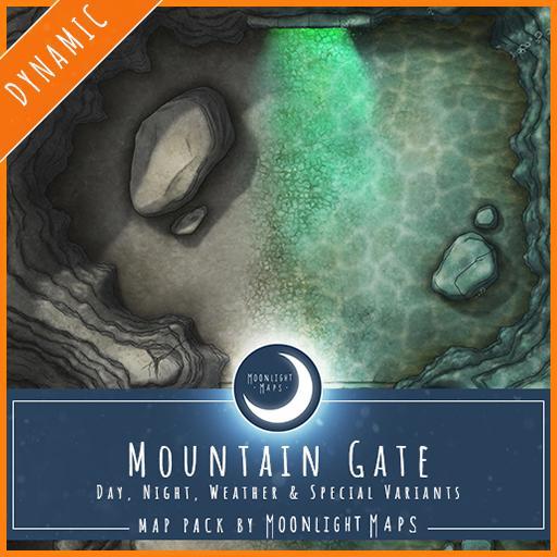 Dynamic   Mountain Gate