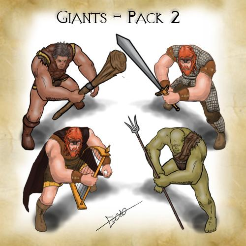 Giants - Pack 2