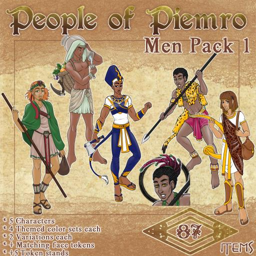 People of Piemro - Men Pack 1