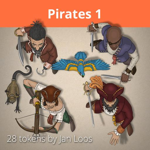 Jans Token Pack 4 - Pirates 1