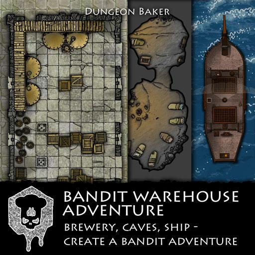 Bandit Warehouse Adventure