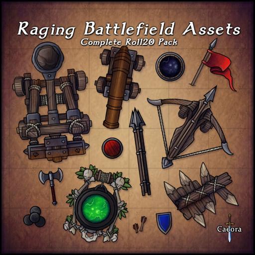 Raging Battlefield Assets
