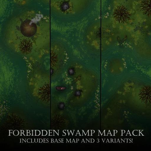 Forbidden Swamp Map Pack