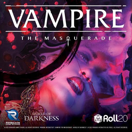 Vampire: The Masquerade 5th Edition Core Rulebook Player Art Pack