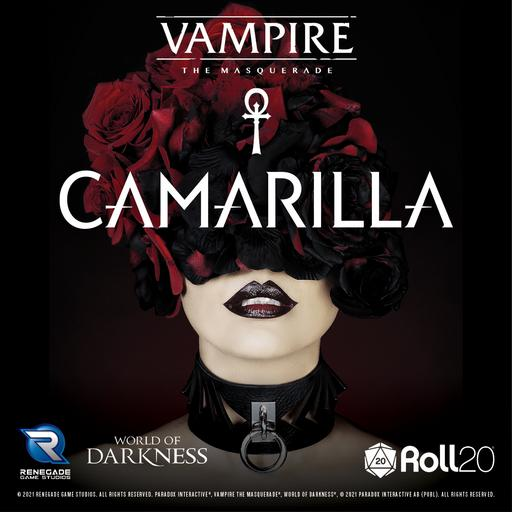Vampire: The Masquerade Camarilla Sourcebook Player Art Pack