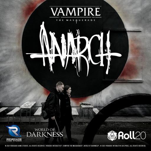 Vampire: The Masquerade Anarch Sourcebook Player Art Pack