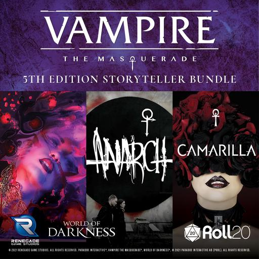 Vampire: The Masquerade 5th Edition Storyteller Bundle