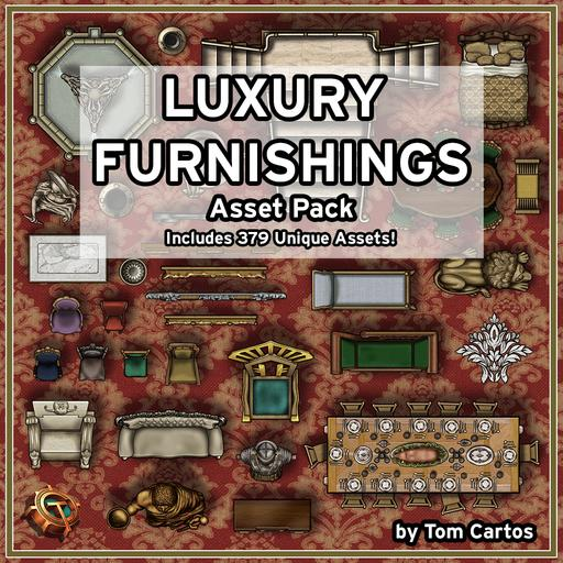 Luxury Furnishings Asset Pack