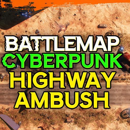 Cyberpunk Highway Ambush