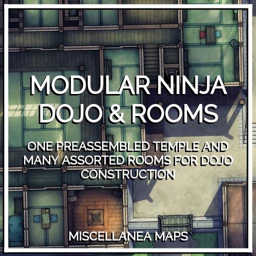 Modular Ninja Dojo & Rooms
