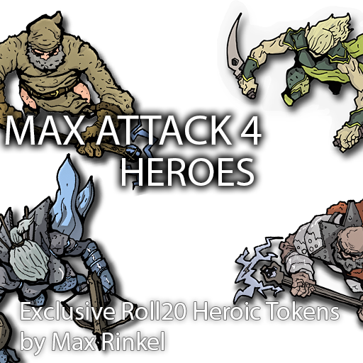 Max Attack 4 - Heroes