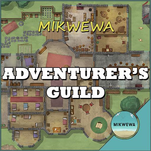 Adventurer's Guild Battlemaps