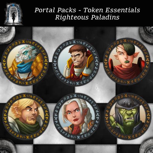 Portal Packs - Token Essentials - Righteous Paladins