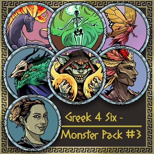 Greek4Six - Monster Pack 3