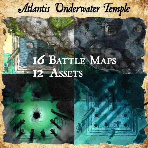 Atlantis Temple Ruins