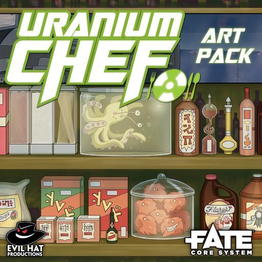 Uranium Chef: Art Pack