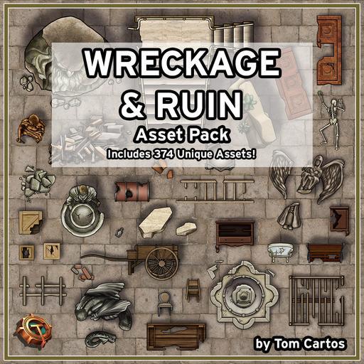 Wreckage & Ruin Asset Pack