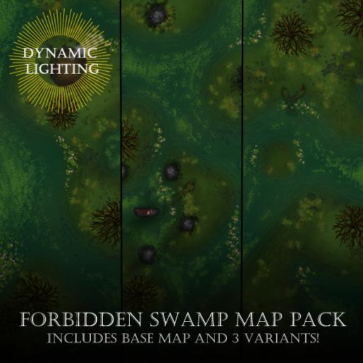 Forbidden Swamp Map Pack - Dynamic Lighting