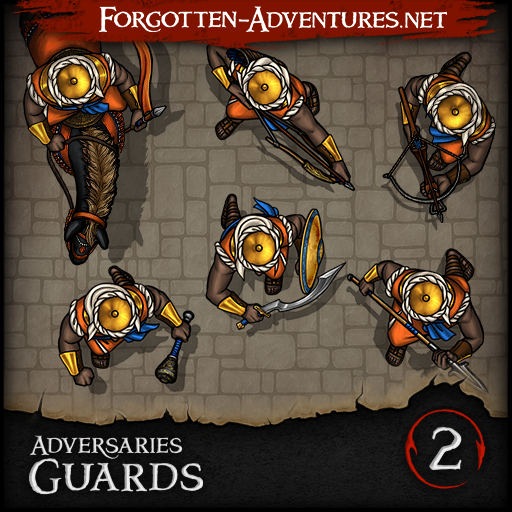 Adversaries - Guards - Pack 2