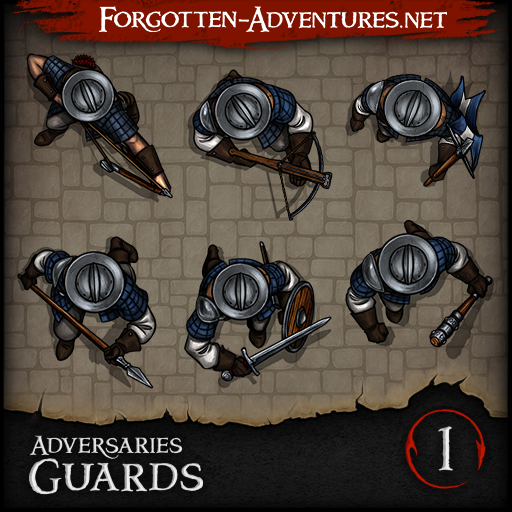Adversaries - Guards - Pack 1