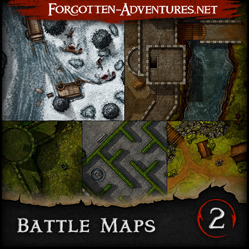 Battle Maps Pack 2