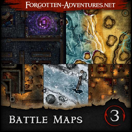Battle Maps Pack 3