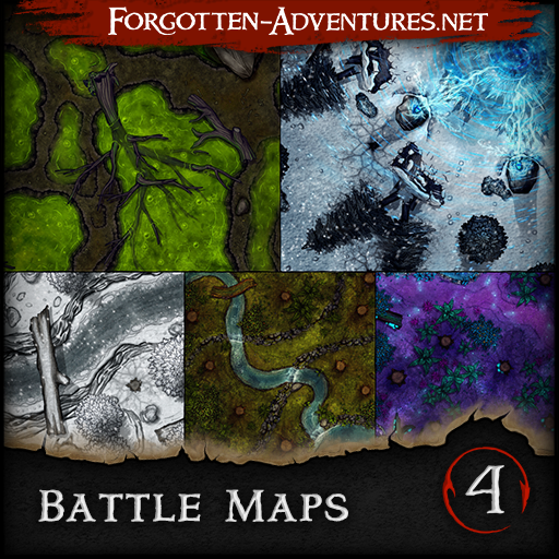 Battle Maps - Pack 4
