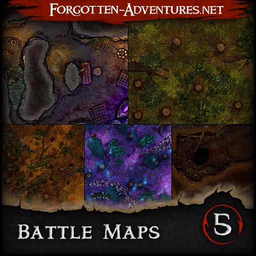 Battle Maps - Pack 5