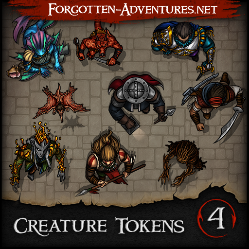 Creature Tokens Pack 4