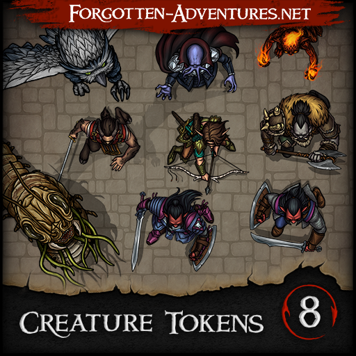 Creature Tokens - Pack 8