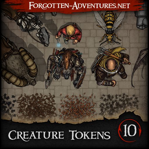 Creature Tokens - Pack 10