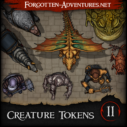 Creature Tokens - Pack 11
