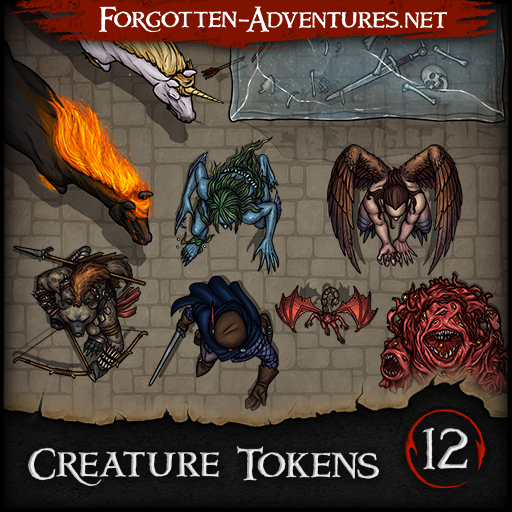 Creature Tokens - Pack 12