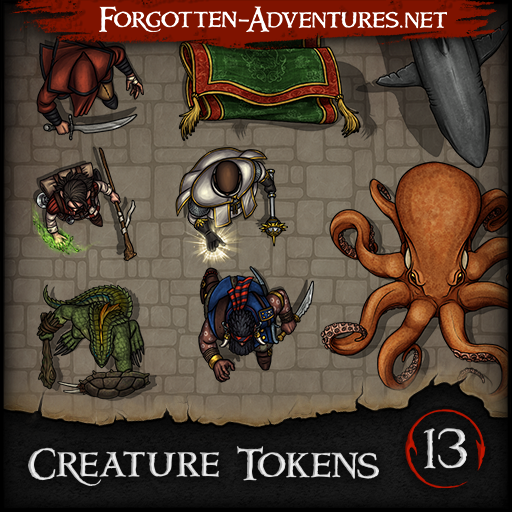 Creature Tokens - Pack 13