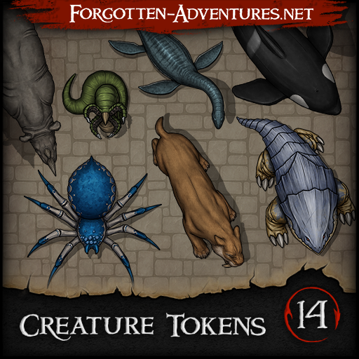 Creature Tokens - Pack 14