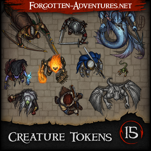 Creature Tokens - Pack 15