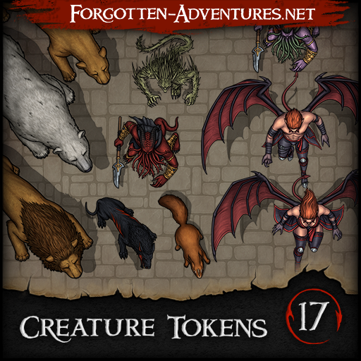 Creature Tokens - Pack 17