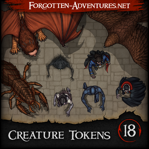 Creature Tokens - Pack 18