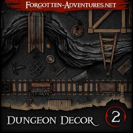 Dungeon Decor - Pack 2 - Mines
