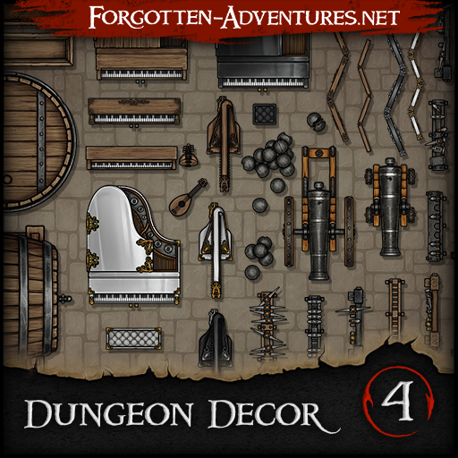 Dungeon Decor - Pack 4