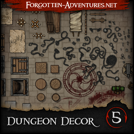 Dungeon Decor - Pack 5