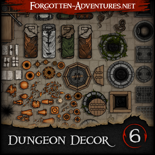 Dungeon Decor - Pack 6