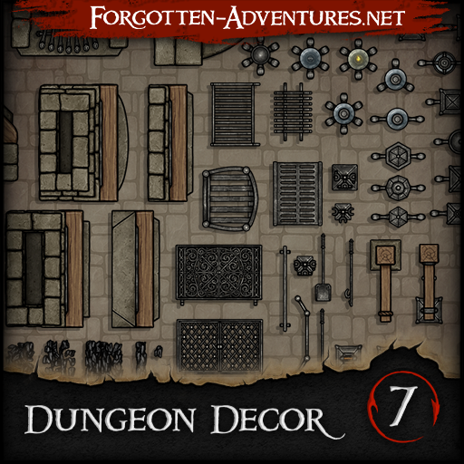Dungeon Decor - Pack 7