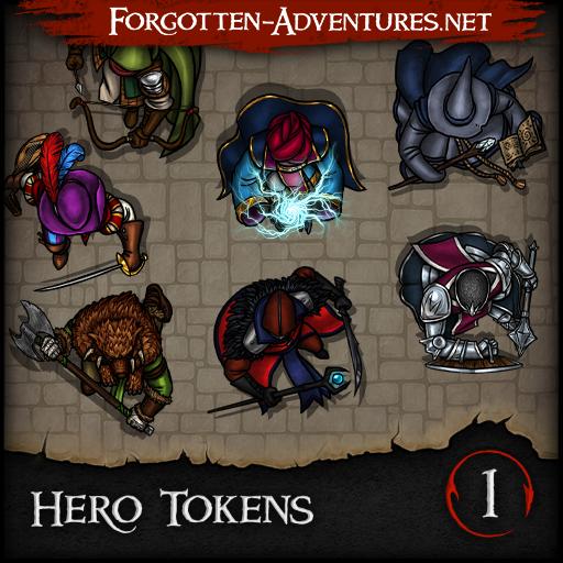 Hero Tokens Pack 1