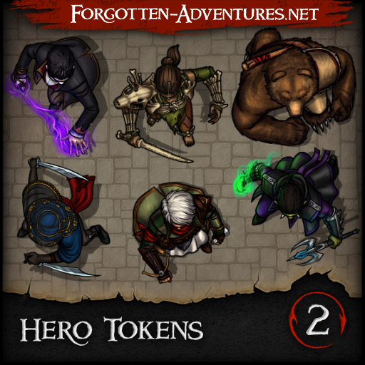 Hero Tokens - Pack 2
