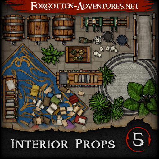 Interior Props - Pack 5