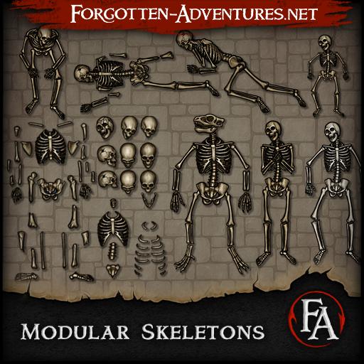 Modular Skeletons - Pack 1